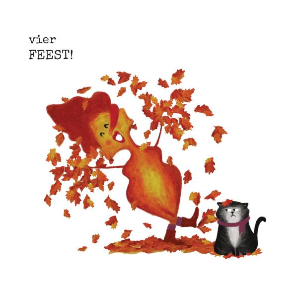 Blaadje & Poes 'Vier Feest!'